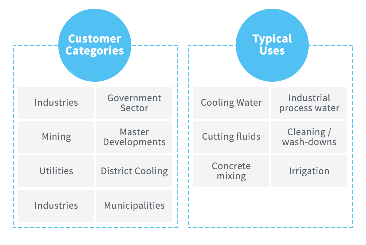 TSE Customer Categories and Uses